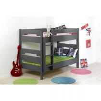Junior provence - Lit superposable 90x190cm Milo Ardoise