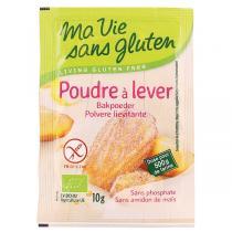 Ma Vie Sans Gluten - Poudre à Lever Bio 4 x 10g