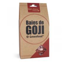 Nat & Form - Baies de Goji Green Food en Sachet de 200g