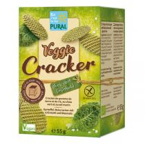 Pural - Veggie crackers chou vert sel marin