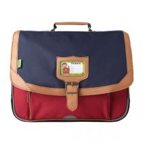 Tann's - Cartable 38cm Iconic bleu rouge