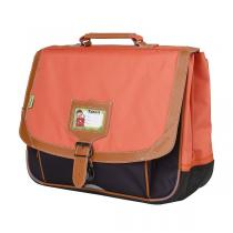 Tann's - Cartable 38cm Iconic Orange-gris
