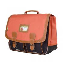 Tann's - Cartable 41cm Iconic Orange-gris