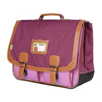Tann's - Cartable 41cm Iconic Violet-parme