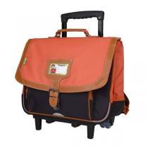 Tann's - Trolley 38cm Iconic Orange-gris