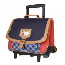 Tann's - Trolley 38cm Tartan rouge