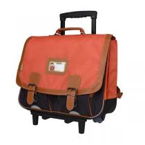 Tann's - Trolley 41cm Iconic Orange-gris