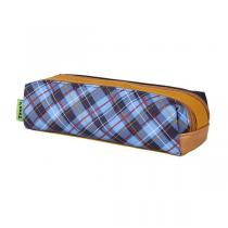 Tann's - Trousse double Tartan Moutarde