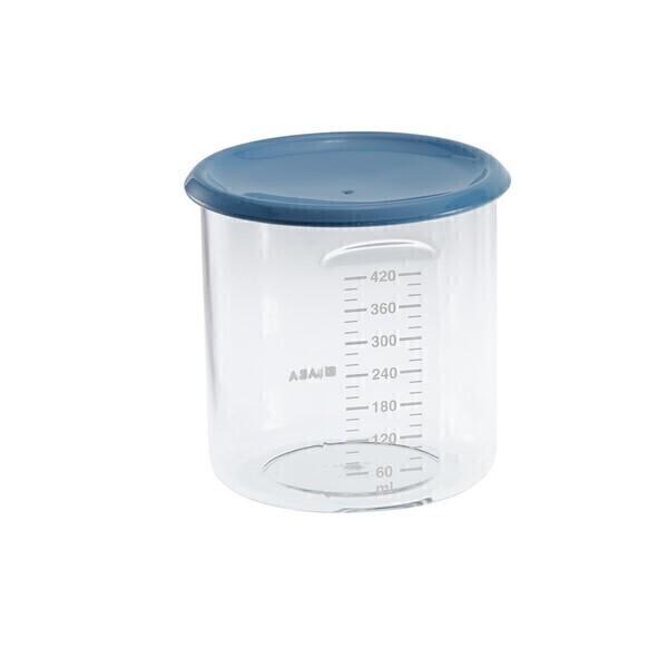 Béaba - Maxi + Portion 420ml Tritan bleu