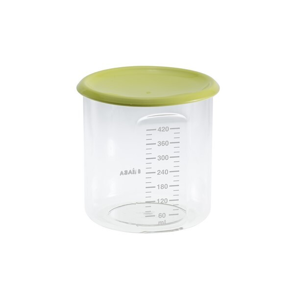 Beaba - Maxi + Portion 420ml Tritan Neon