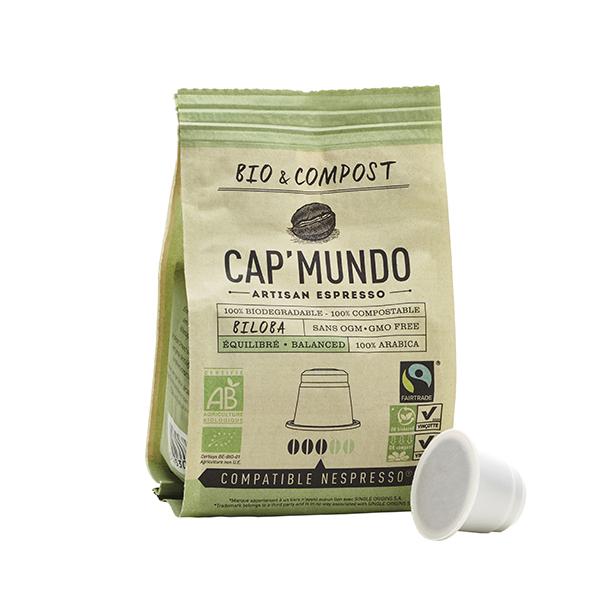 Cap Mundo - Café Bio BILOBA x10 capsules