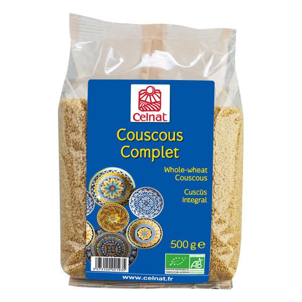 Celnat - Couscous complet bio - 3 kg