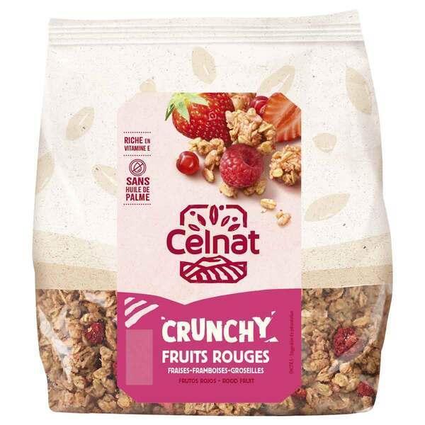 Celnat - Crunchy Fruits Rouges bio - 500g