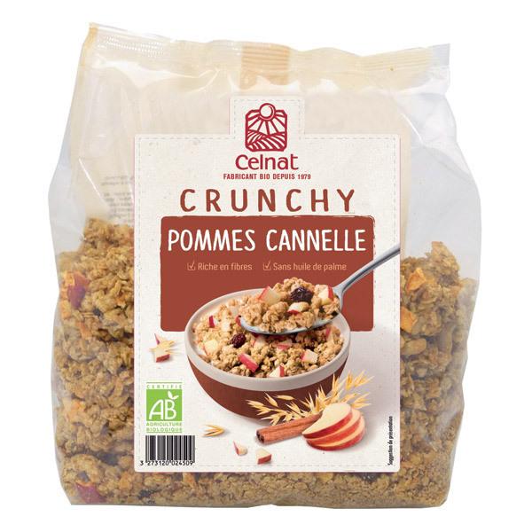 Celnat - Crunchy Pommes Cannelle bio - 500g