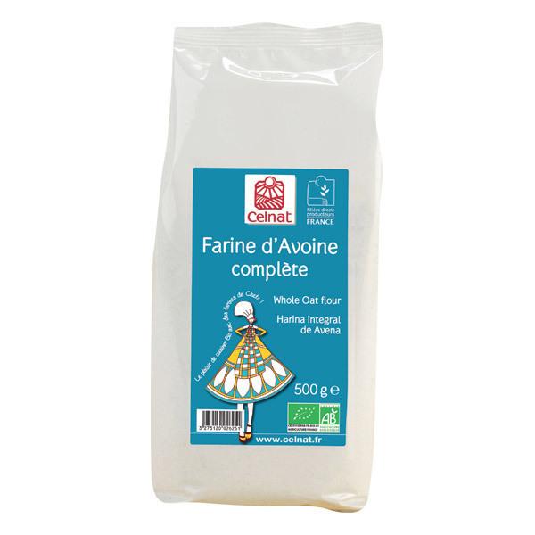 Celnat - Farine d'avoine complète 500g