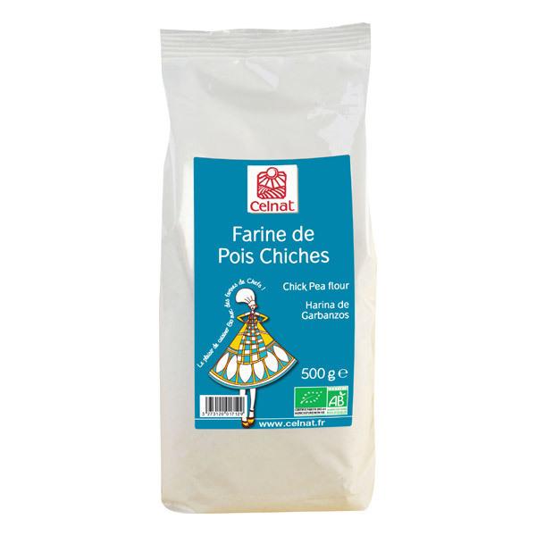Celnat - Farine de pois chiches bio 3kg