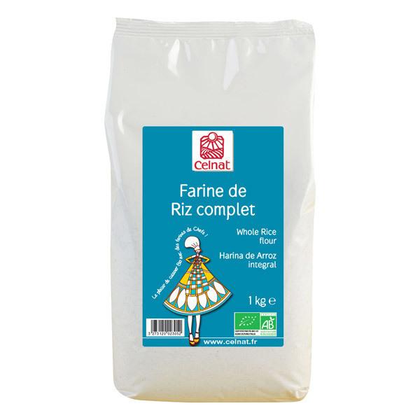 Celnat - Farine de riz complet bio - 1 kg