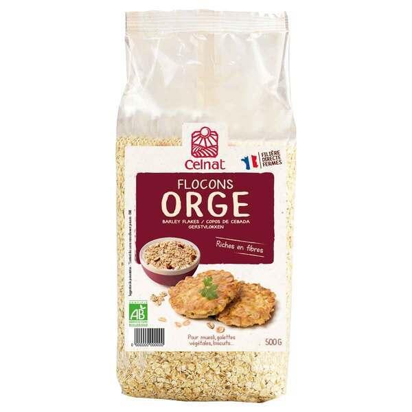 Celnat - Flocons d'orge bio - 500 g
