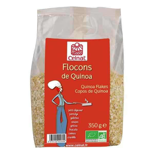 Celnat - Flocons de quinoa bio - 350 g