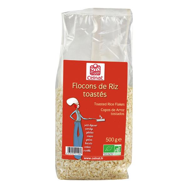 Celnat - Flocons de riz toastés bio - 500 g