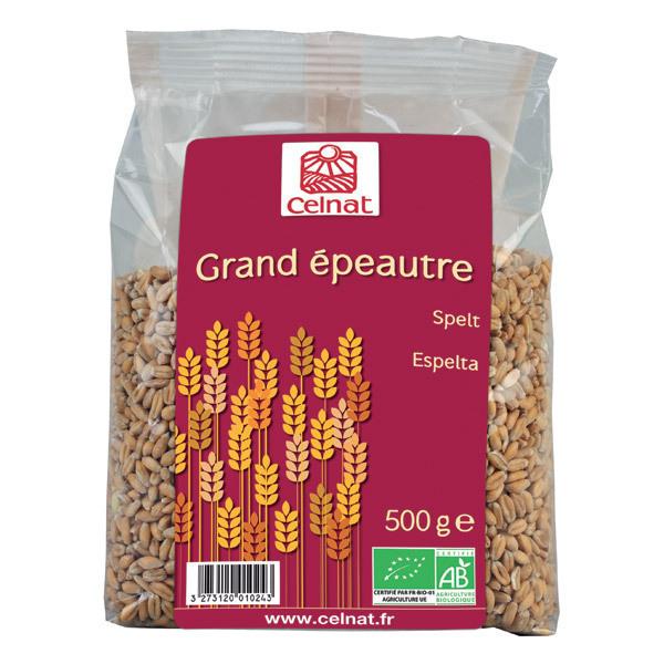 Celnat - Grand épeautre bio - 500 g