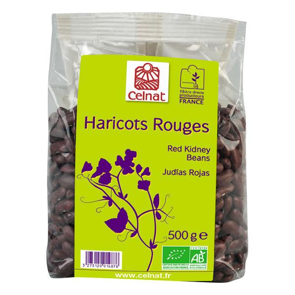 Celnat - Haricots Rouges Bio France - 500g