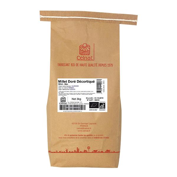 Celnat - Millet décortiqué bio 3kg