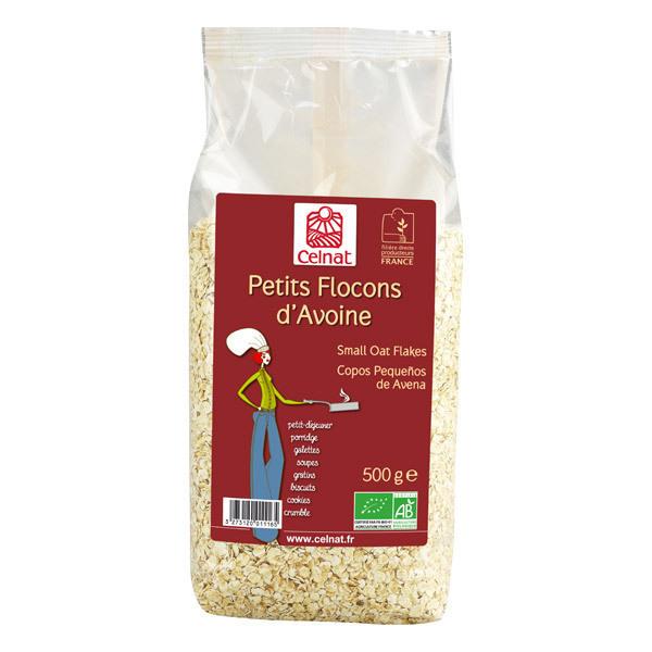 Celnat - Petits flocons d'avoine bio origine France - 5 kg