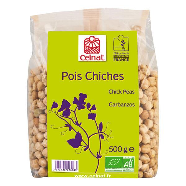 Celnat - Pois chiches origine France 3kg
