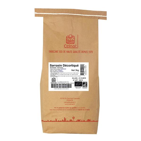 Celnat - Sarrasin décortiqué bio - 3 kg