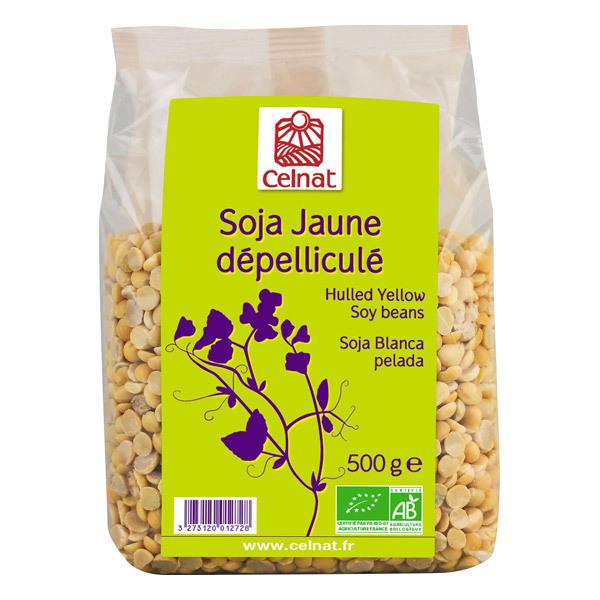 Celnat - Soja Jaune dépelliculé bio - 500g