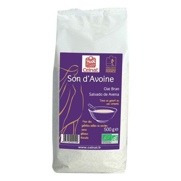 Celnat - Son d'avoine bio 3kg