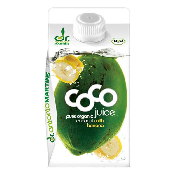 Dr. Antonio Martins - Eau de coco Banane 500 mL