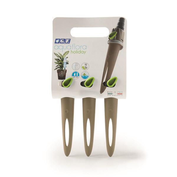 GF Garden - Lot de 3 Aquaflora Holiday Basic arrosage goutte à goutte