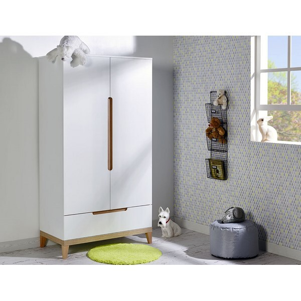 Junior provence - Armoire 2 portes Evidence Blanc