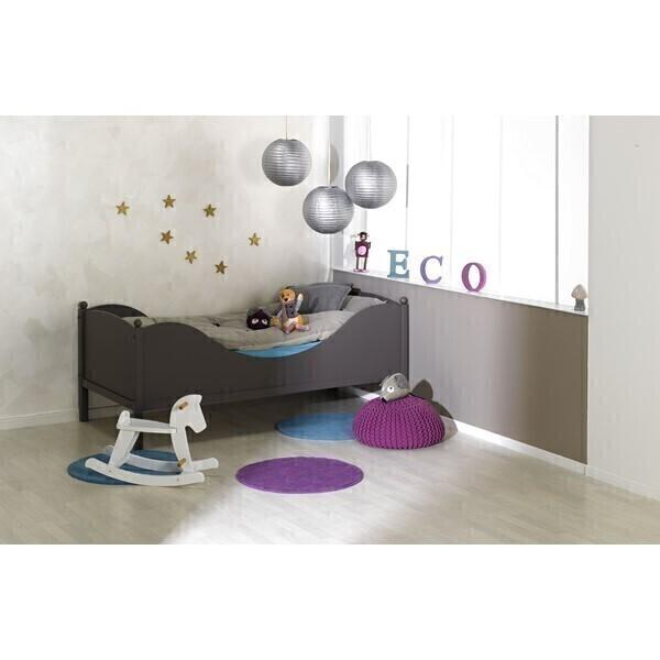 Junior provence - Lit junior 90x190cm Color taupe