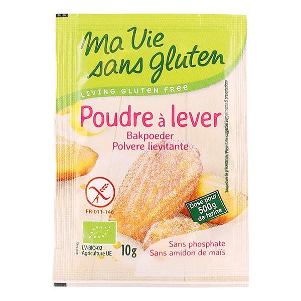 Ma Vie Sans Gluten - 4 sachets poudre à lever 10g