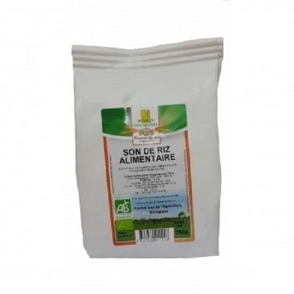 Moulin des Moines - Son de riz Bio 500g