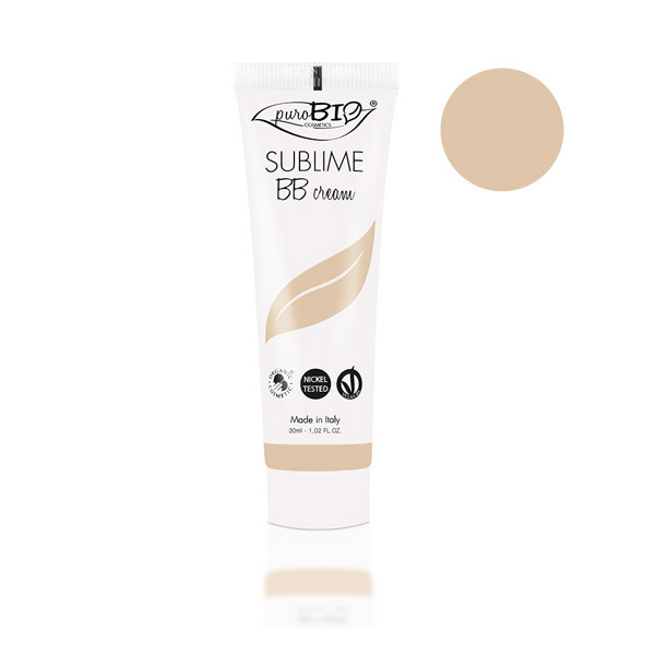 PuroBIO Cosmetics - BB Cream Sublime n°1 tons clairs