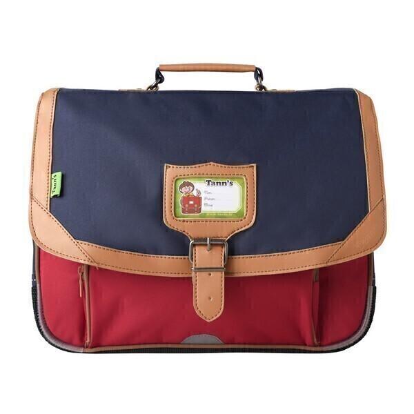 cartable 38cm iconic bleu rouge tann 39 s acheter sur. Black Bedroom Furniture Sets. Home Design Ideas