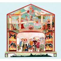 Amulette - Petit théâtre à l'italienne -7 ans