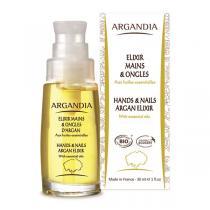 Argandia - Elixir mains et ongles d'argan aux huiles essentielles - 30 mL