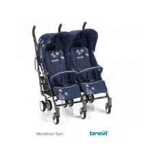 Brevi - Poussette jumelle Marathon Twin Marine