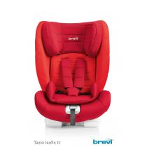 Brevi - TAZIO Isofix TT - Siège auto Groupe 1/2/3 Inclinable Rouge