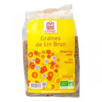 Celnat - Graines de Lin Brun bio - 3Kg
