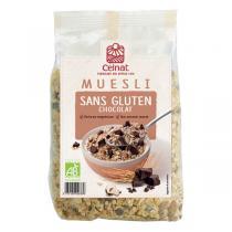 Celnat - Muesli Sans Gluten Chocolat bio - 375g