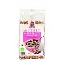 Celnat - Muesli Super Fruit Graines de Chia bio - 375g
