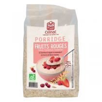 Celnat - Porridge Fruits Rouges bio - 375g