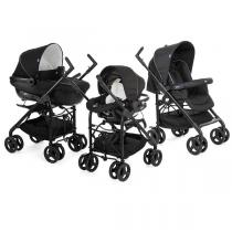 Chicco - Poussette Trio Sprint black night Combiné Noire