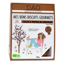 Dao - Biscuits Cacao et Pépites de chocolat bio - 140 g